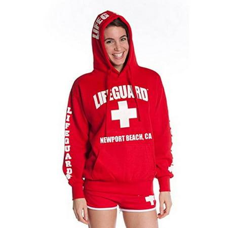 Beach Adult Sweatshirt (Official Lifeguard Ladies Newport Beach)