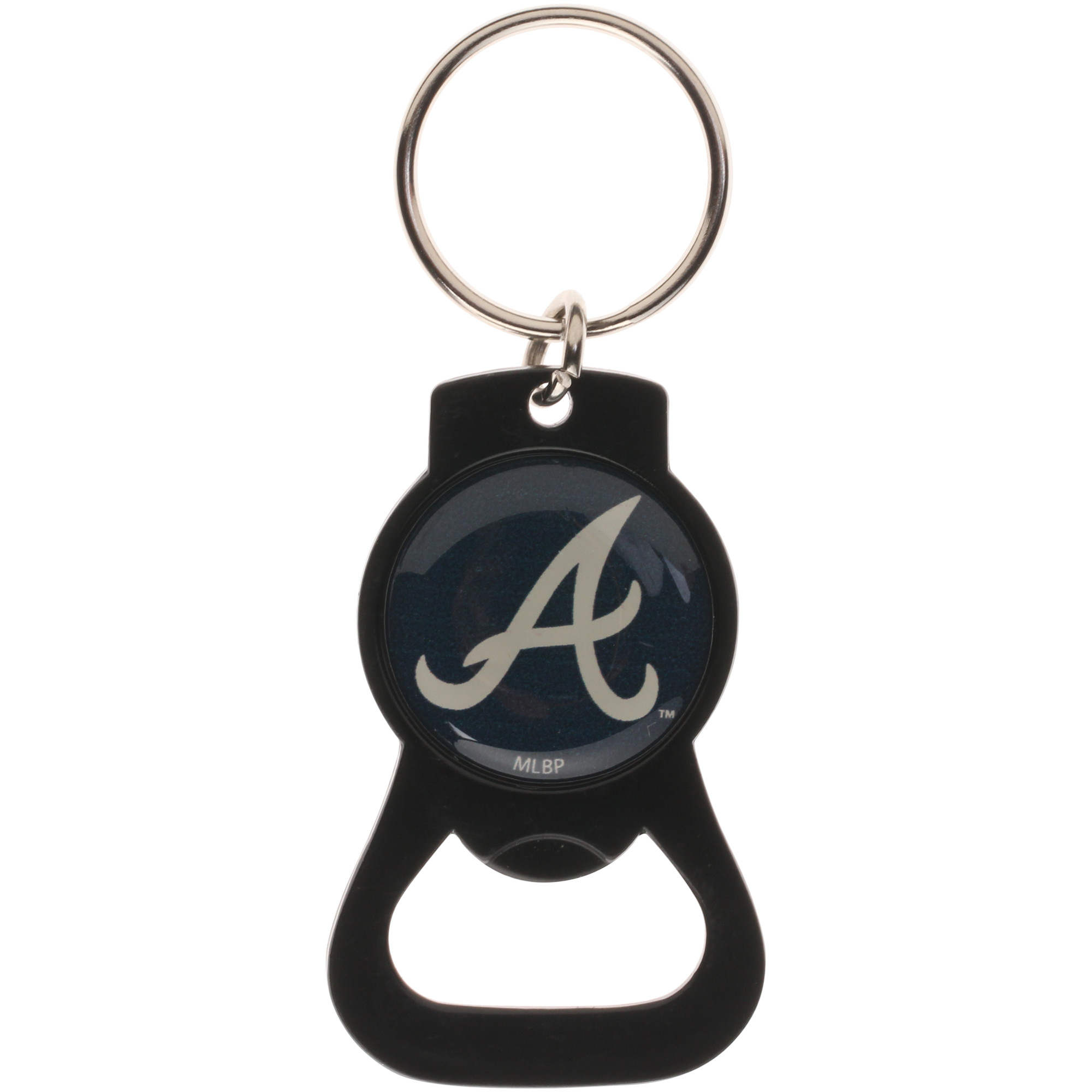 Atlanta Braves Bottle Opener Keychain - Black - No Size