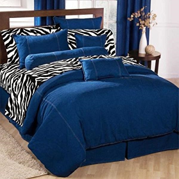 American Denim Duvet Cover Size: California King