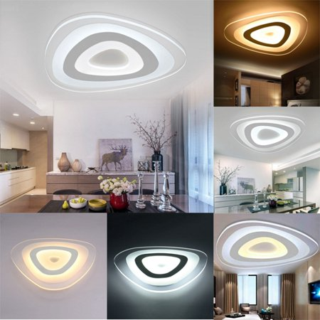 Moaere 3-Color Adjustable LED Ceiling Lights Modern Mango Fixture Ultraslim Pendant Lamp for Kitchen Hallway Bathroom ()