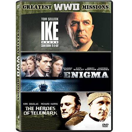 Greatest WWII Missions: Ike - Countdown To D-Day / The Heroes Of Telemark / Enigma