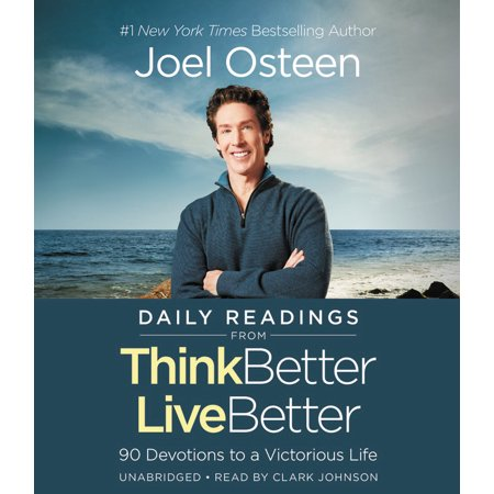Daily Readings From Think Better  Live Better  90 Devotions To A Victorious Life