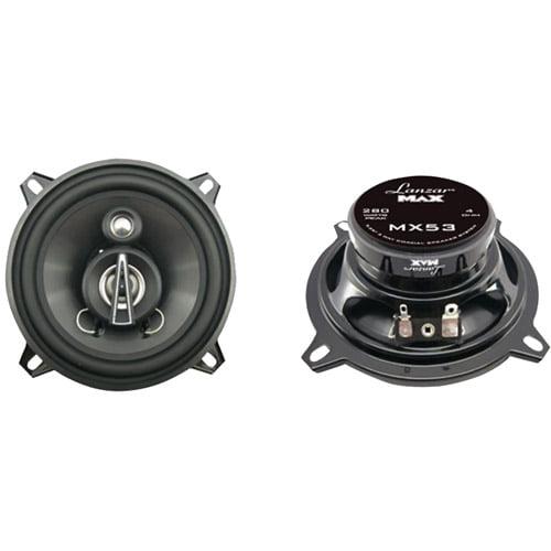 Lanzar MX53 3-Way Triaxial Speakers