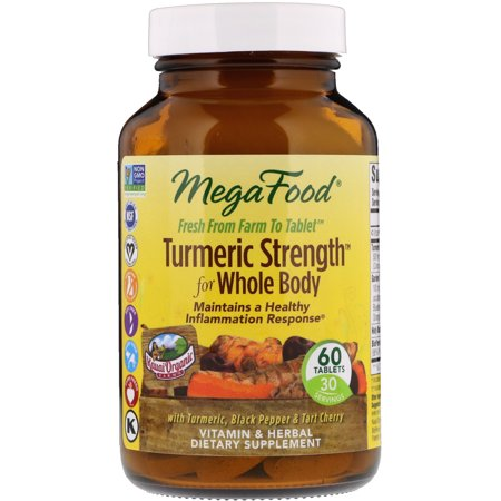 Turmeric Strength for Whole Body - 60 Tablets by MegaFood