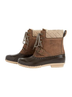 Kendra Quilted Trim Duck Boot