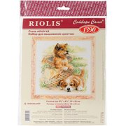 """Tender Age Counted Cross Stitch Kit, 9.75"""" x 9.75"""", 14 Count"""