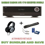 Harman Kardon AVR 1710 7.2-Channel 100-Watt Network-Connected Audio/Video Receiver + Monster Home Theater Accessory