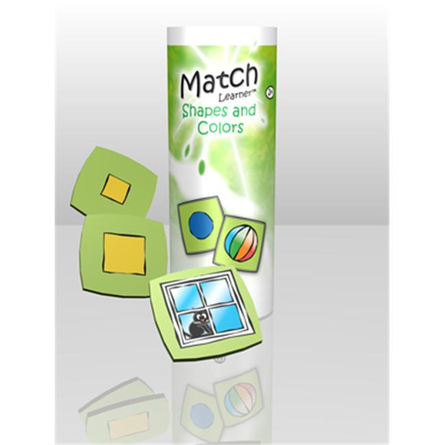American Educational ML0015 Match Learner Shapes and Colors