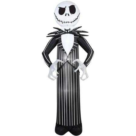 Nightmare Before Christmas Jack Airblown Halloween Decoration.