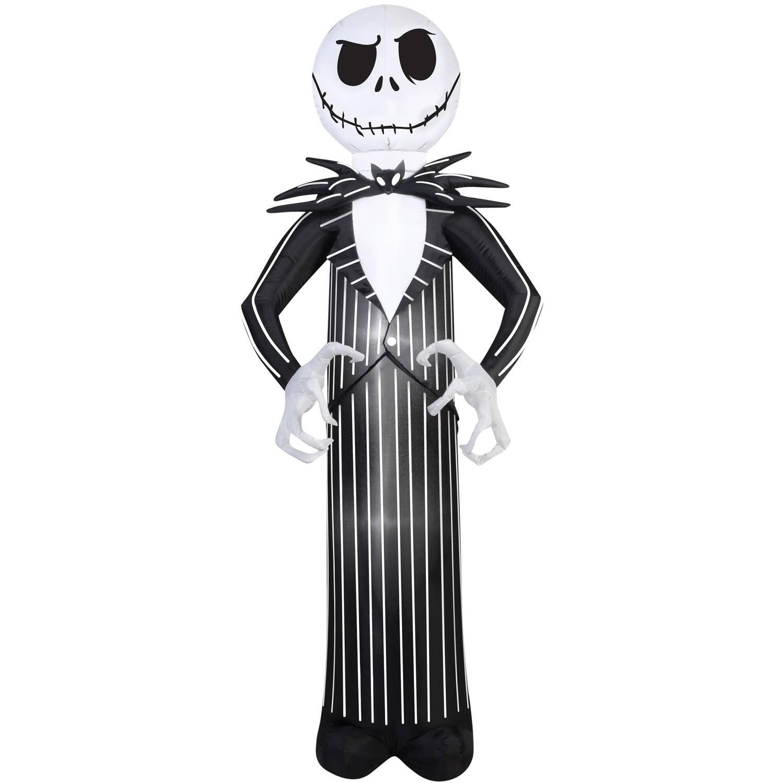 Nightmare Before Christmas Jack Airblown Halloween Decoration.