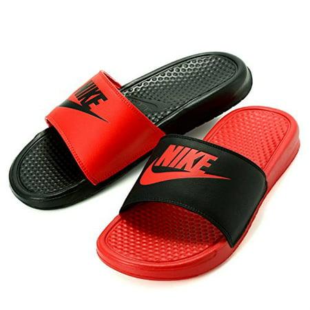 d5da57fe41fe Nike - Nike Men s Benassi JDI Mismatch University Red Black 818736 ...