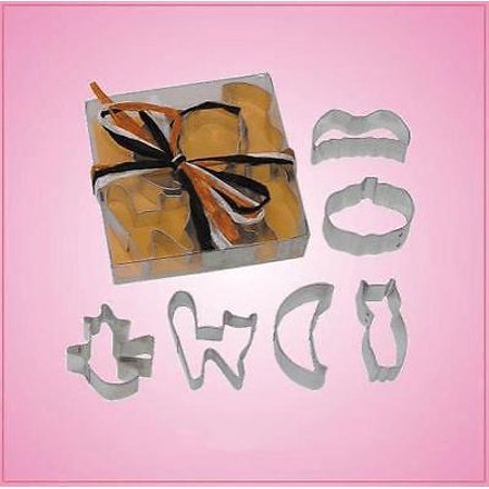 Mini Halloween Cookie Cutter Set](Mini Cookie Cutters Halloween)