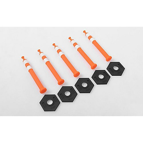 RC4WD 1/12 Scale RC Highway Traffic Cones