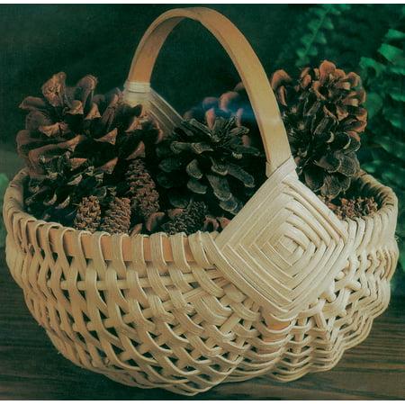 """Blue Ridge Basket Kits, Melon Basket, 8"""" x 9"""" x 8"""""""