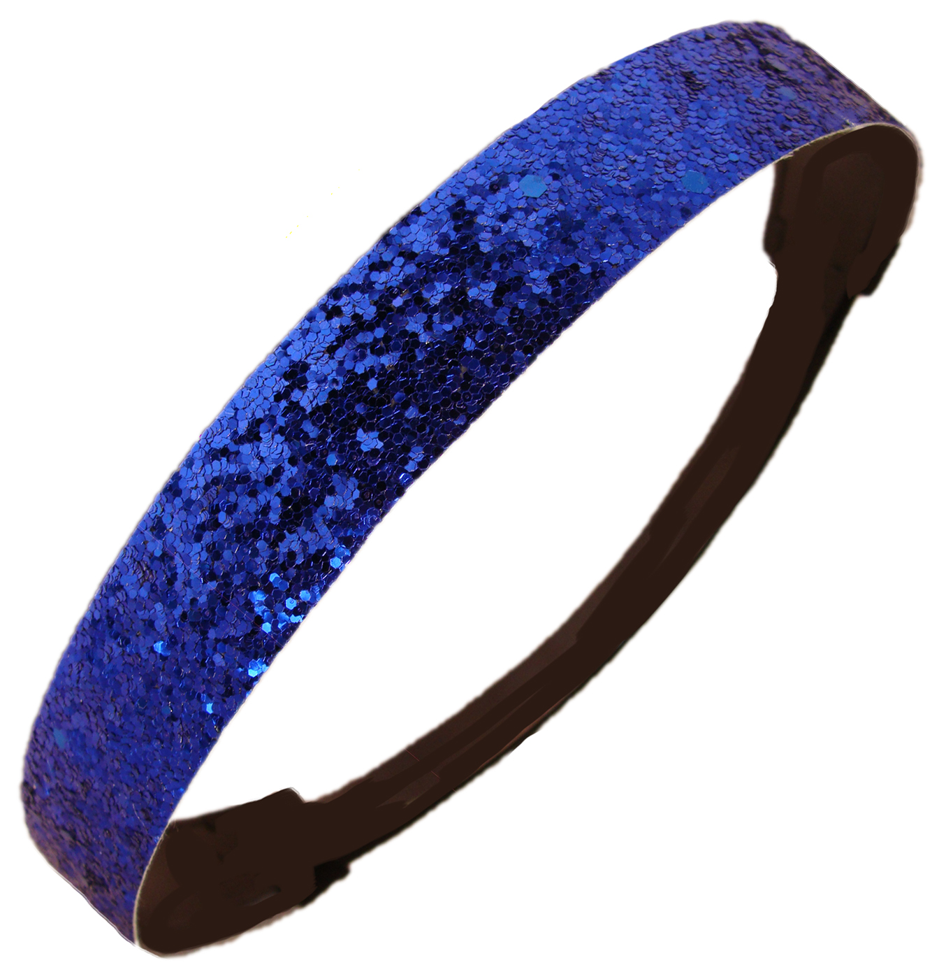 Kenz Laurenz Glitter Headband Girls Headband Sparkly Hair Head Band Blue