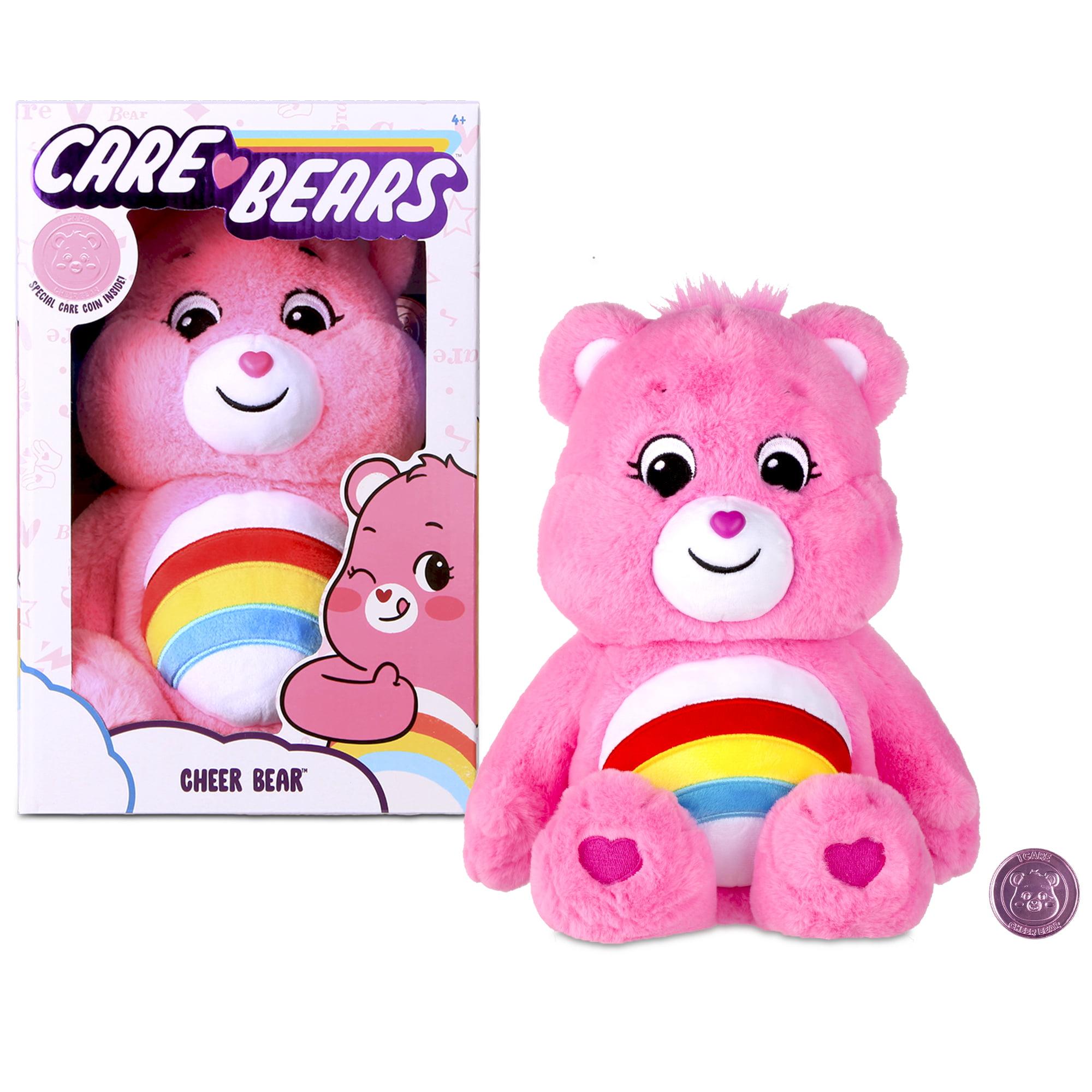 "NEW 2020 Care Bears - 14"" Plush - Cheer Bear - Soft Huggable Material! - Pink"