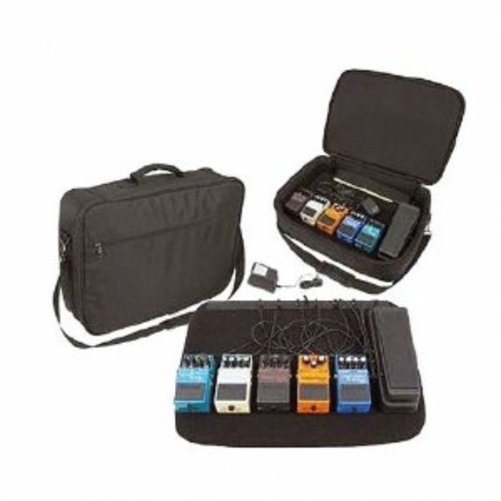 Johnson FX-BRD Powered Pedalboard with Bag Multi-Colored