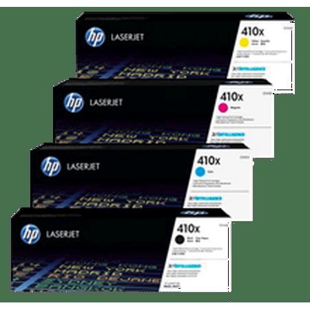~Brand New Original HP CF410X Laser Toner Cartridge High Yield Set Black Cyan Yellow Magenta - image 1 of 1