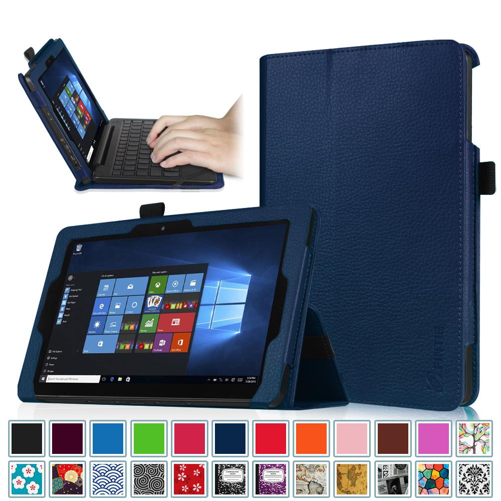 "8.9"" Nextbook Flexx 9 2-in-1 Window 10 Tablet (NXW9QC132) Case - Fintie Premium PU Leather Folio Cover, Navy"