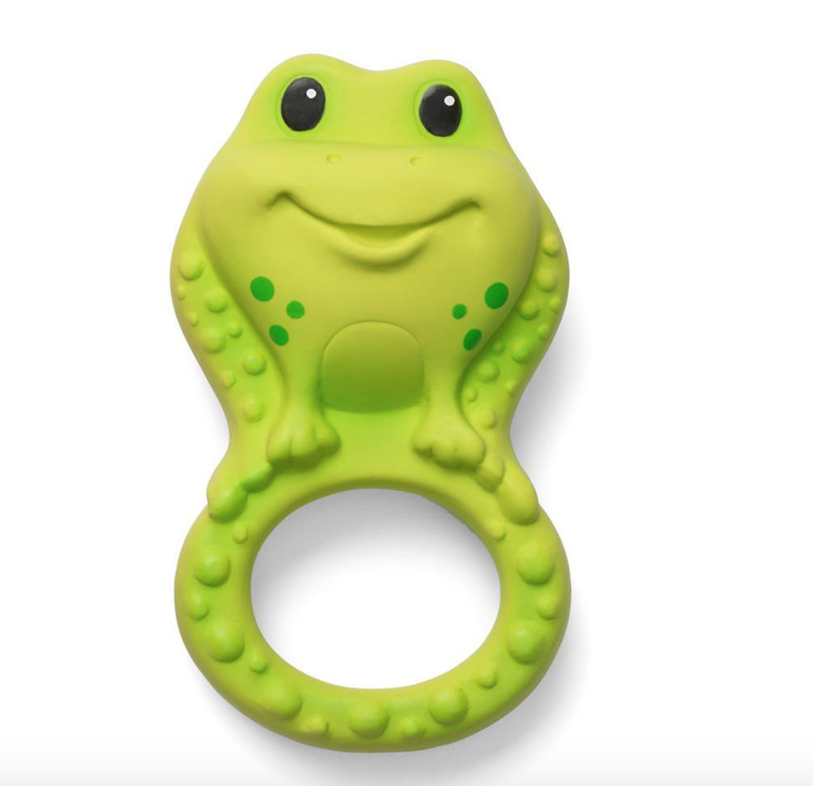 Infantino Squeeze & Teethe Textured Teether Pal, Frog