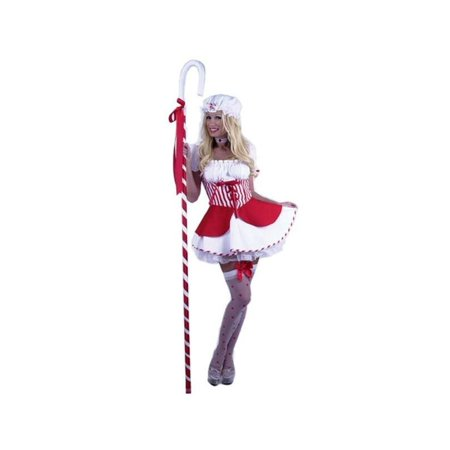 Adult Red Sexy Little Bo Peep Costume - Little Bo Peep Adult Costume