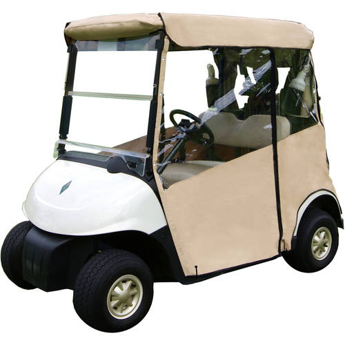 "3-Sided Fitted ""Over-The-Top"" Golf Cart Cover, Yamaha G14-G19"