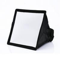 LYUMO 15*17cm Portable Softbox Soft Box Diffuser For Canon Nikon Flash Light Speedlite,Portable Softbox, Soft Box Diffuser