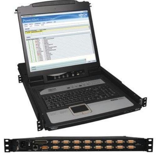 "Tripp Lite Netdirector 16-port 1u Rack-mount Console Ip Kvm Switch W/19 In. Lcd - 16 Computer[s] - 19"" Lcd - 1280 X 1024ps/2 Portusbvga (b020-u16-19-ip)"