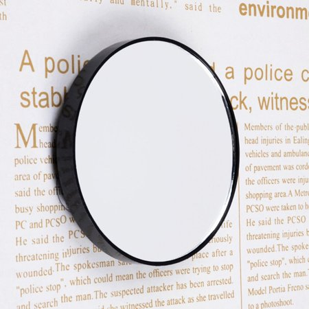 Mini Round Makeup Mirror 5X 10X 15X Magnifying Mirror With Two Suction Cups - image 10 of 10