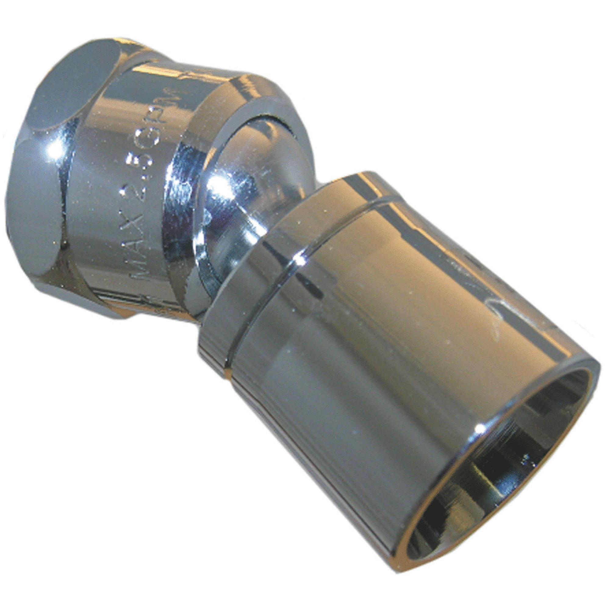 Lasco Water Saver Control 1-Spray Fixed Showerhead