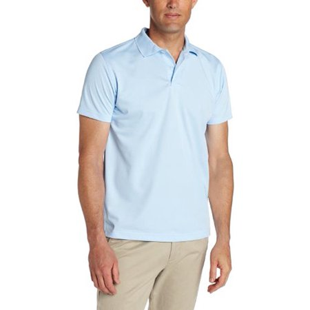 Lee Uniforms Mens Sport Polo Light Blue / Large