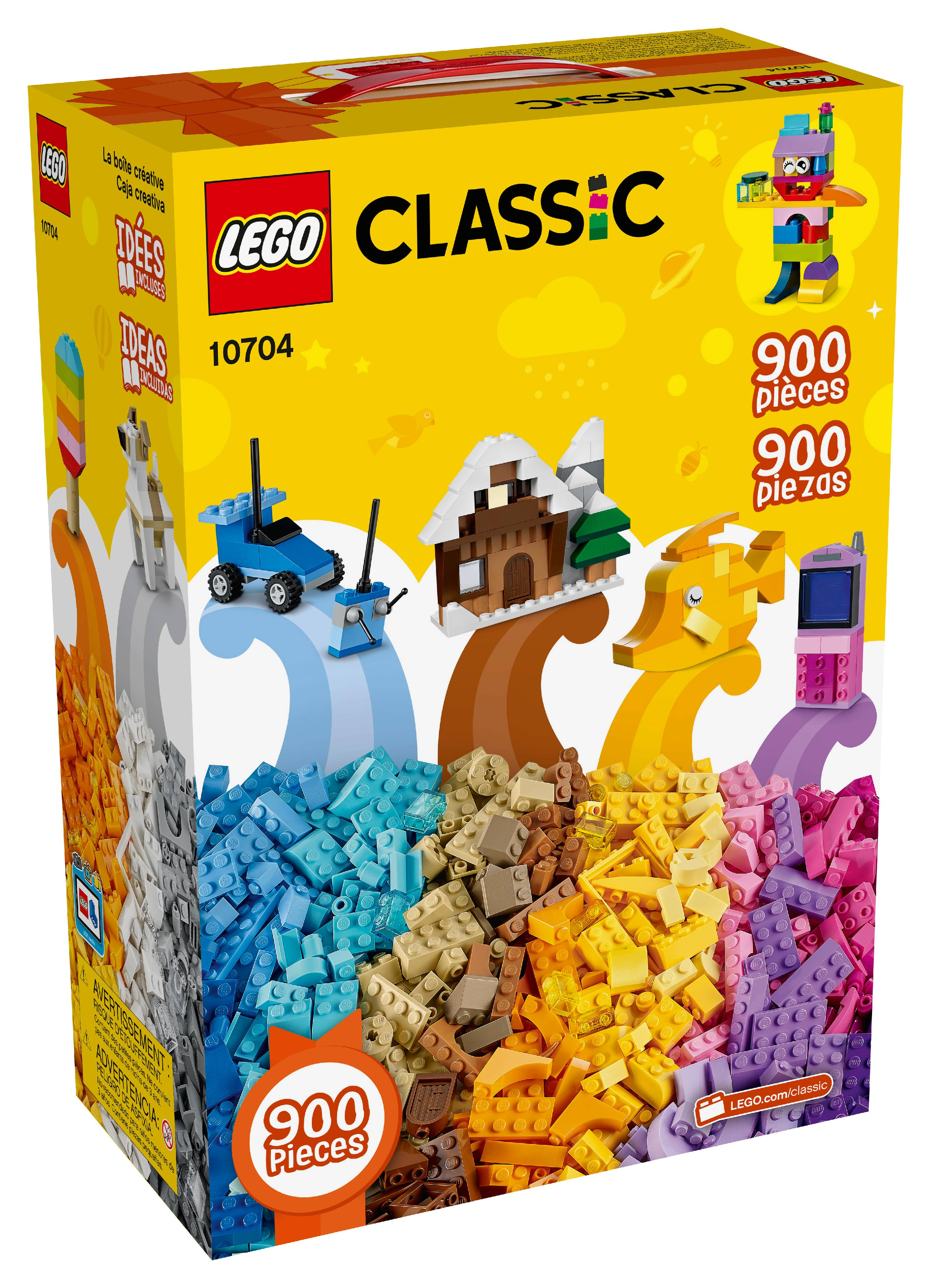 755f1f84e67 LEGO Classic Creative Box 10704 Building Set (900 Pieces) - Walmart.com