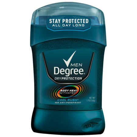 Degree for Men Dry Protection Cool Rush Antiperspirant Deodorant 1.7 oz