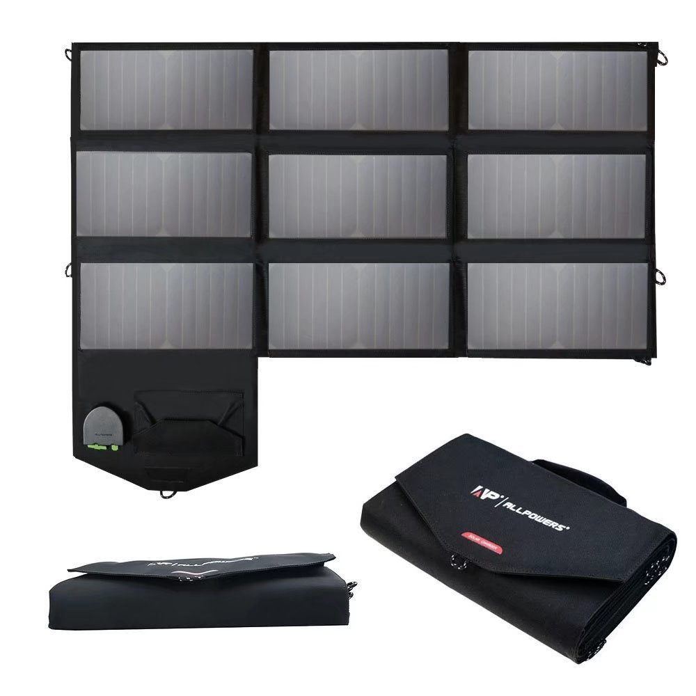 Solar Panel ALLPOWERS 60W Foldable SunPower Solar Charger...