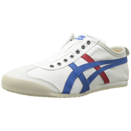 the latest 8bb2d 40d58 Onitsuka Tiger D3K0N-0143 : Mexico 66 Slip-On Classic Running Shoe White