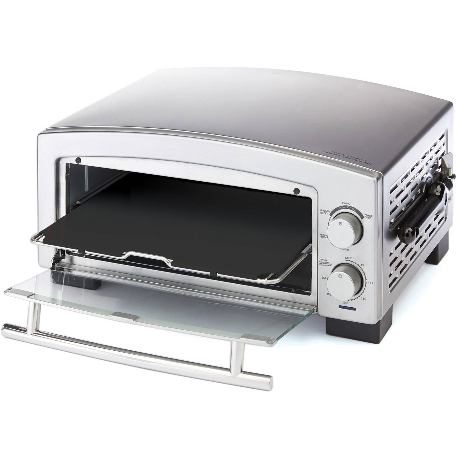 Black & Decker 5-Minute Pizza Oven, Snack Maker, P300S by Spectrum Brands