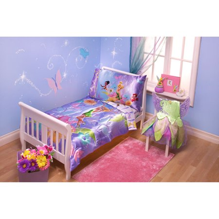 Tinkerbell Pixieland  Piece Toddler Bedding Set