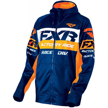 FXR Race Division Tech Hoodie Authentic 4-Way Stretch Tech Active Fit  Snowmobile