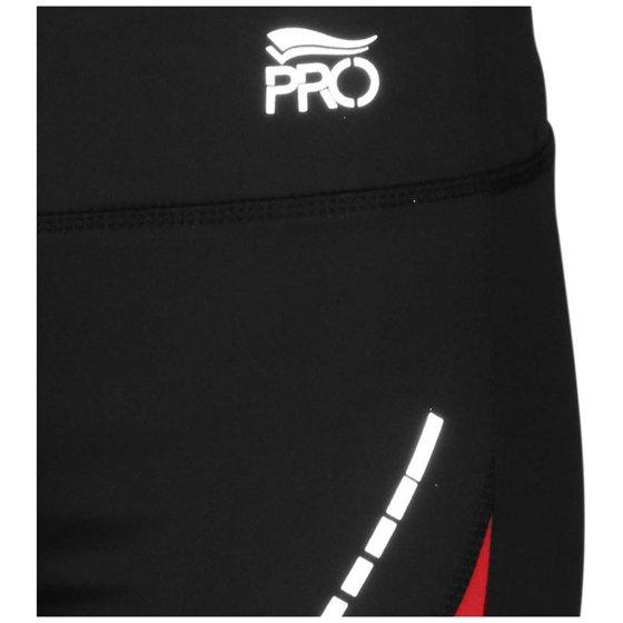 Crivit Pro Women's Performance Active Running Shorts-Black/Red