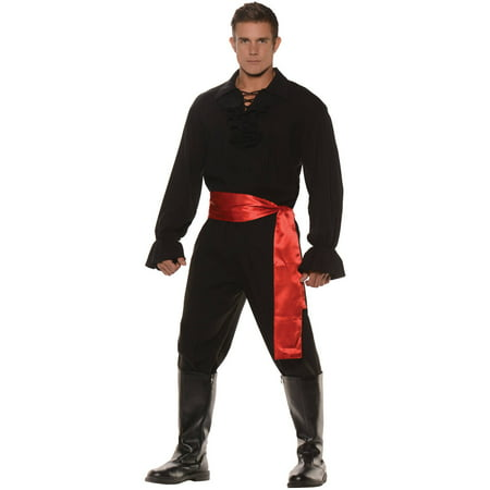 Black High Seas Bandit Men's Adult Halloween Costume