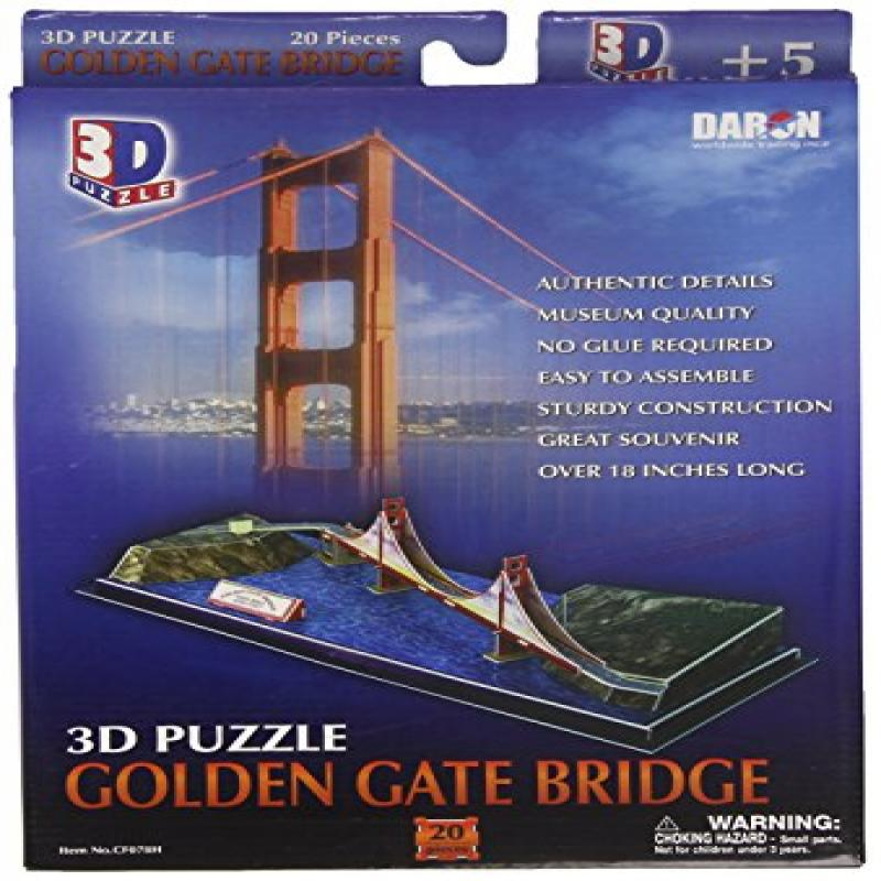 Golden Gate Bridge 3D Puzzle