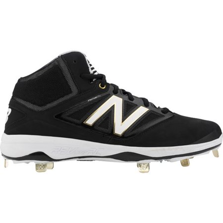 284e5345f New Balance Men's M4040v3 Mid Metal Baseball Cleats - Walmart.com