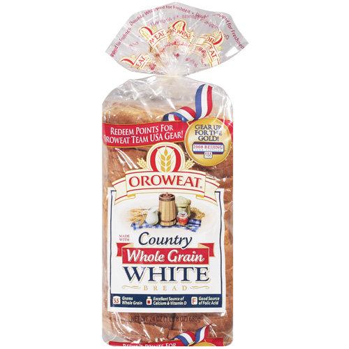 Oroweat: Country Whole Grain White Bread, 24 Oz
