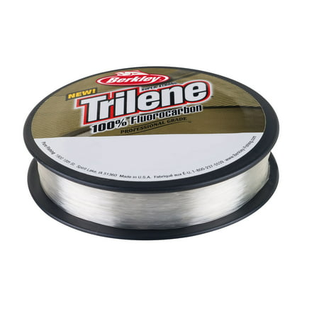 Berkley Trilene 100% Fluorocarbon Professional Grade Line Spool 110 Yards, 0.013