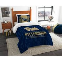 """NCAA Pittsburgh Panthers """"Modern Take"""" Bedding Comforter Set"""