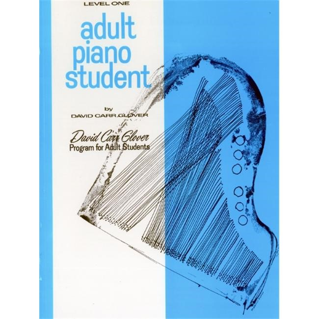 Alfred 00-FDL00458 Adult Piano Student- Level 1 - Music Book