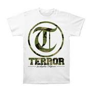 Terror Men's  Camo White T-shirt White