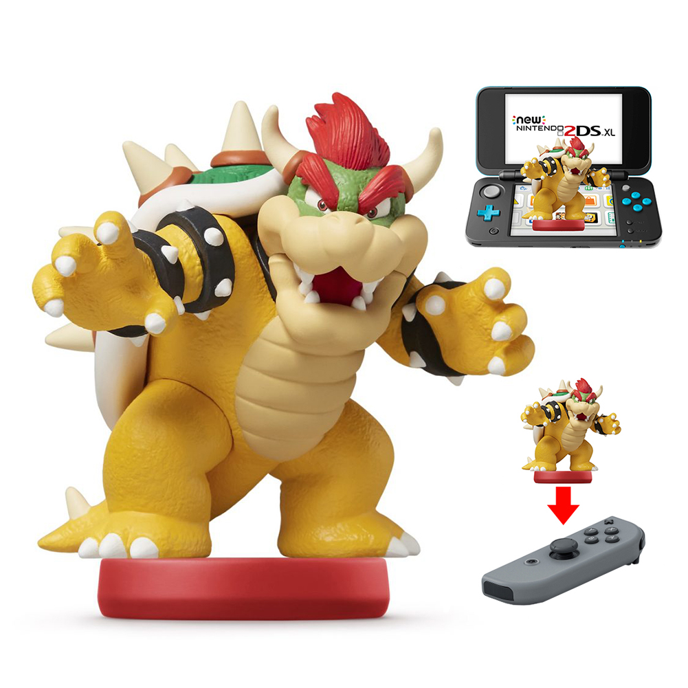 Bowser amiibo Figure by Nintendo - Super Mario Series - Switch, New 2DS XL, and New 3DS XL Compatible