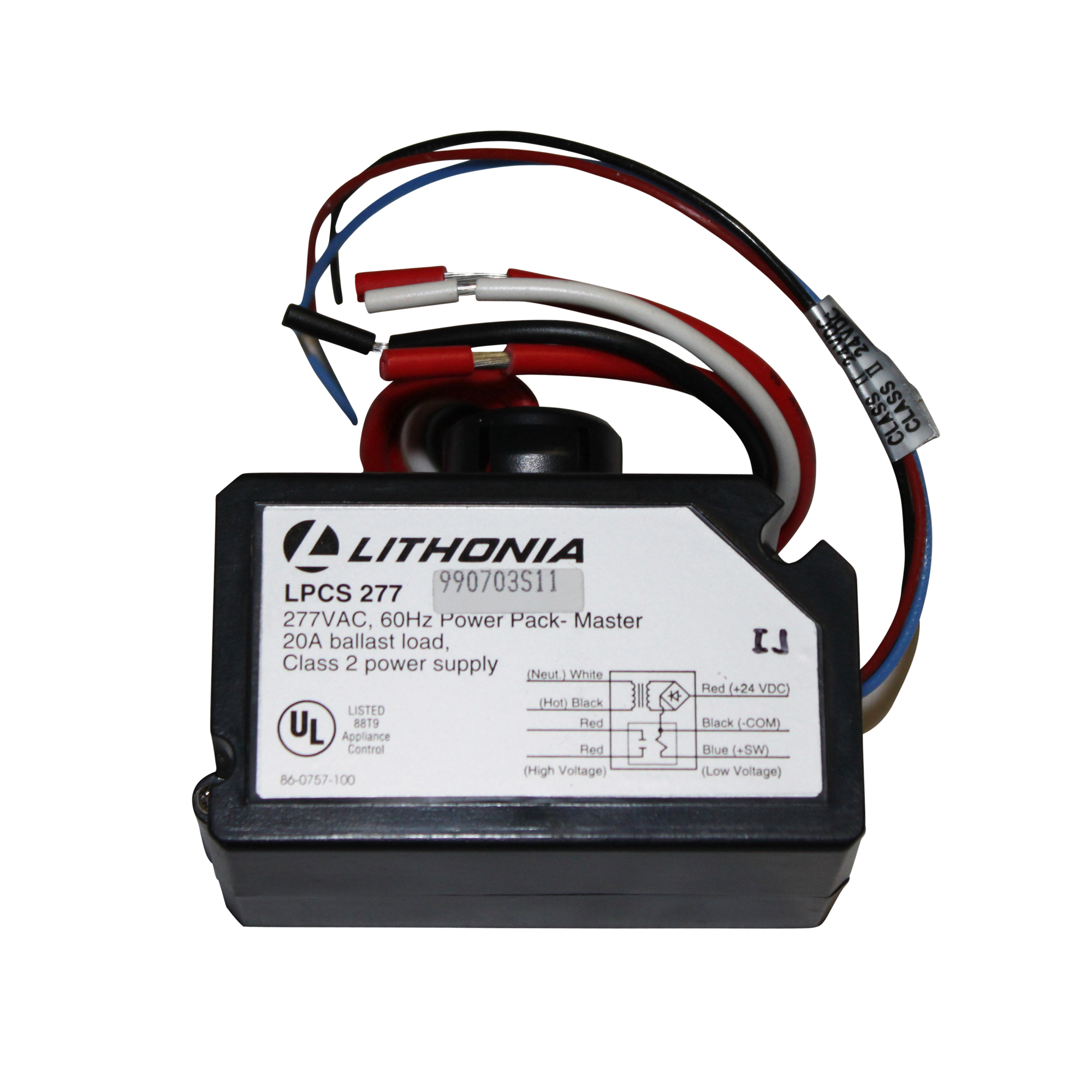 Lithonia Lighting LPCS 277 Occupancy Sensor Power Pack Master Litronic 277V Power Control Station 60