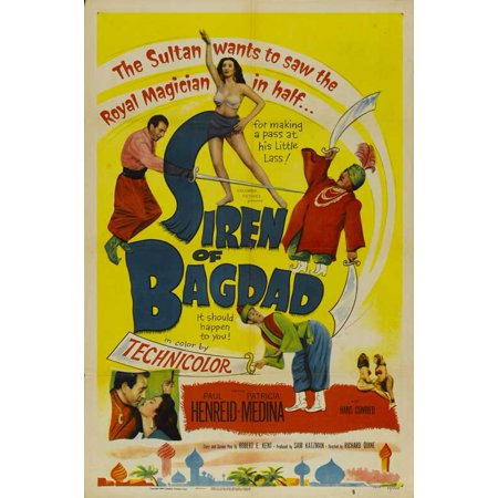 The Siren of Bagdad - movie POSTER (Style A) (11